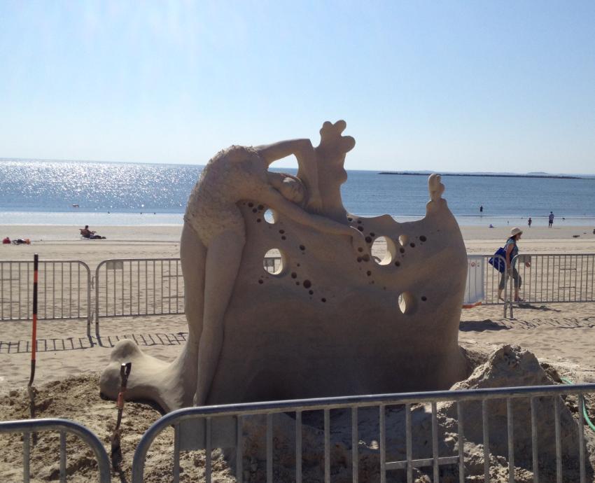 Sand sculpture 2016