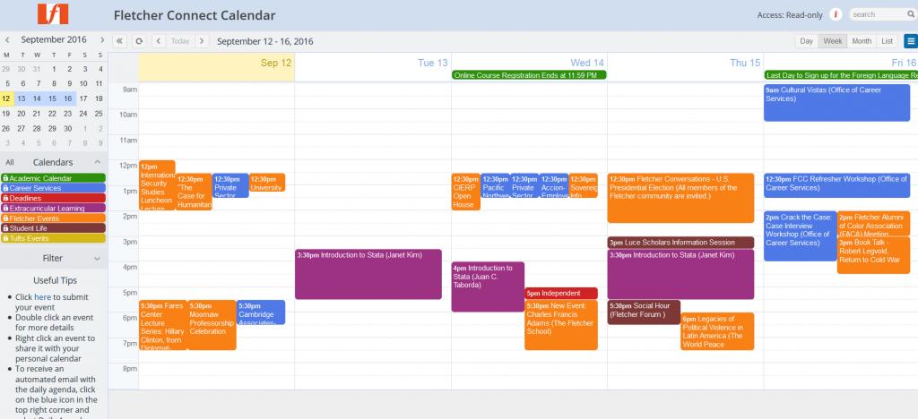 September 12 calendar