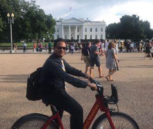 Akshobh at the White House