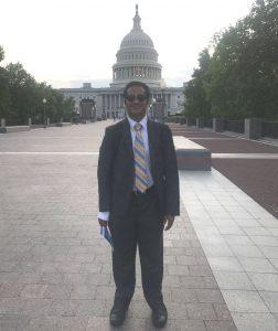 Akshobh at the Capitol