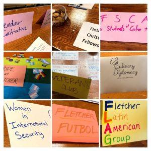 Fletcher School student organizations