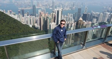 Kevin in Hong Kong