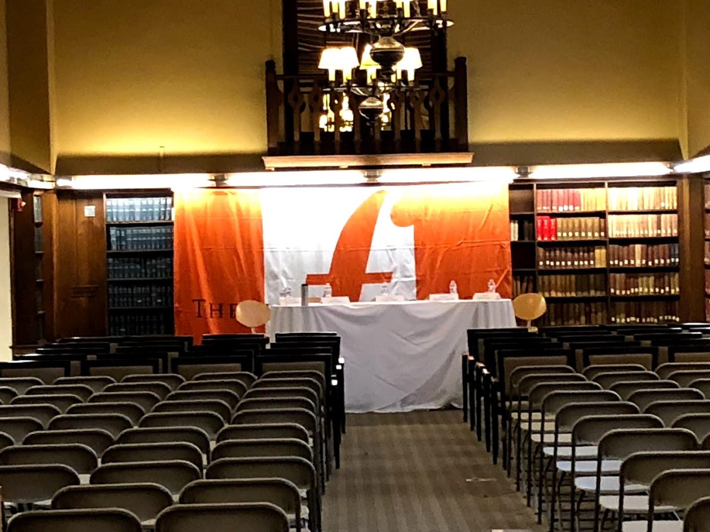 Fletcher banner Ginn library