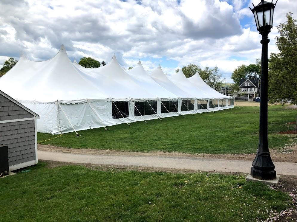 graduation tent