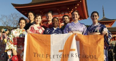 fletcher students in Japan