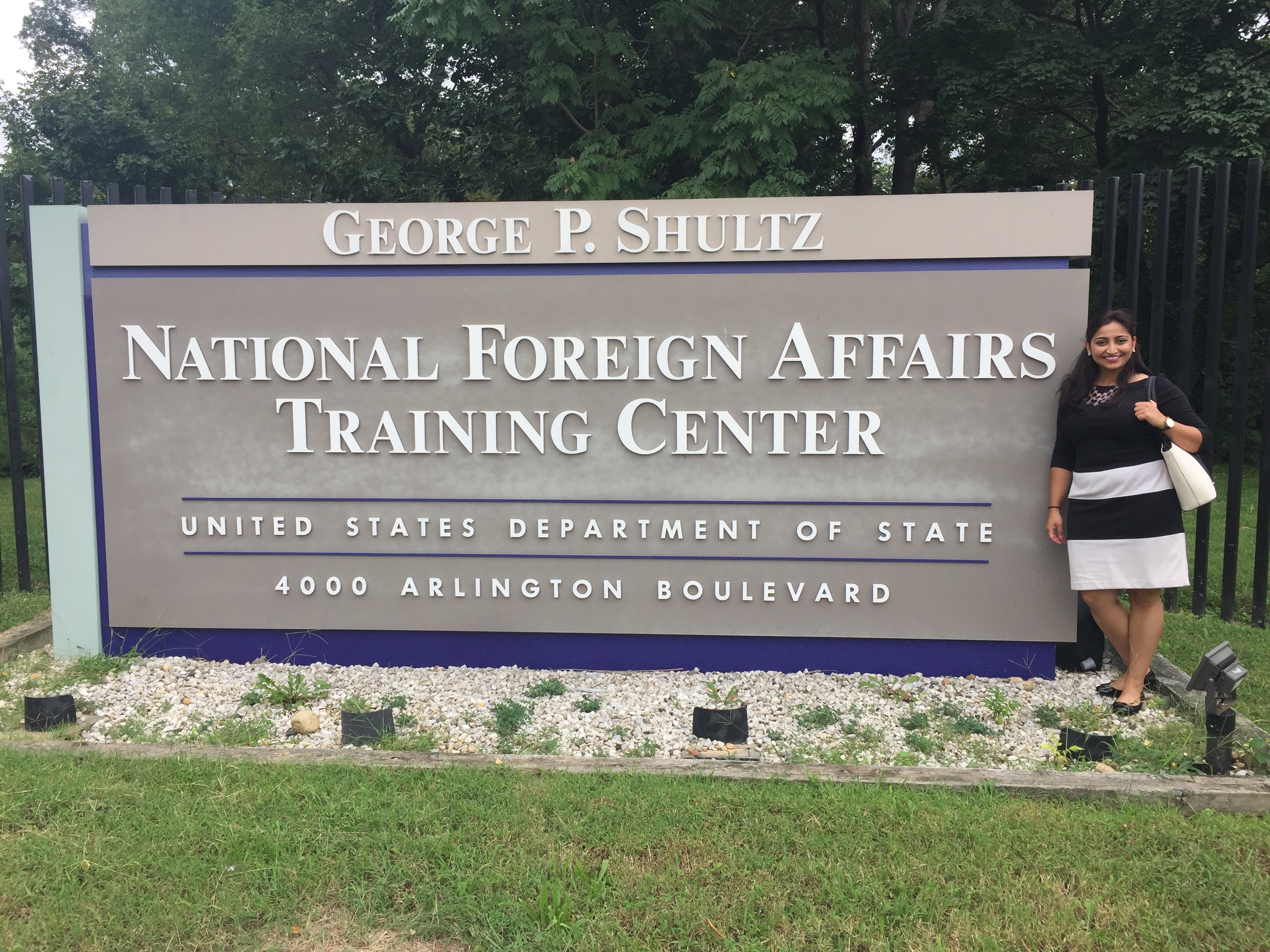 First-year Alumni: Mariya begins her Foreign Service career