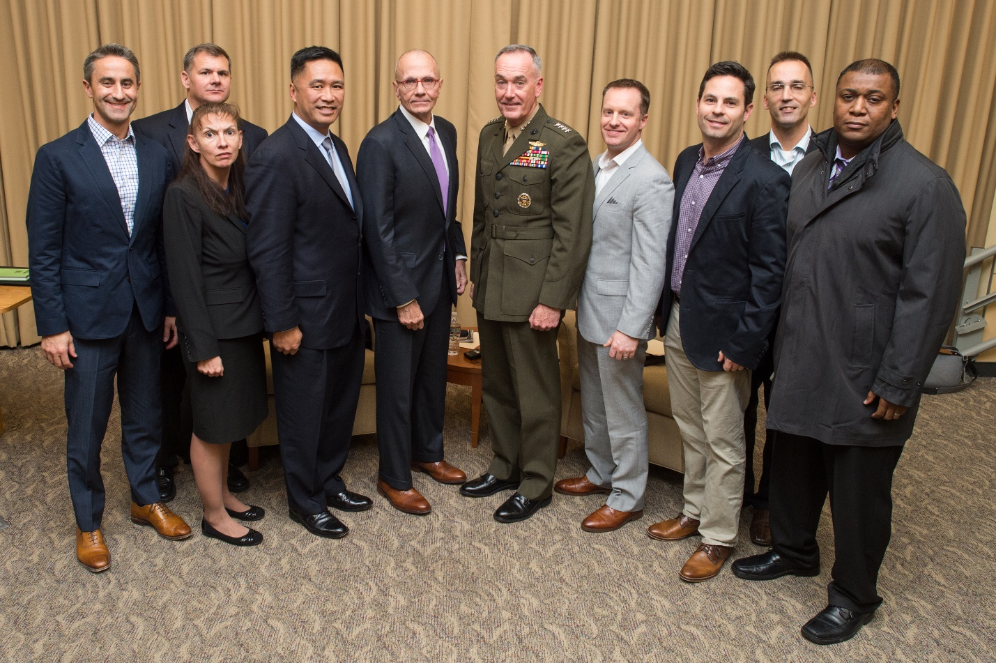 ISSP program with Joint Chiefs