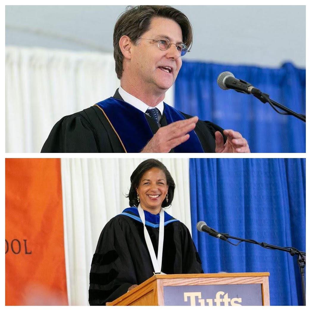 Ian Johnstone, Amb. Susan Rice