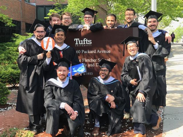 Akshobh graduates Fletcher