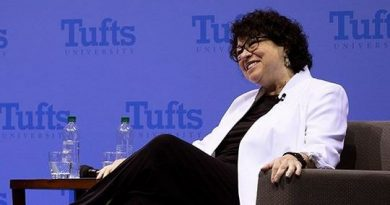 Justice Sotomayor at Tufts