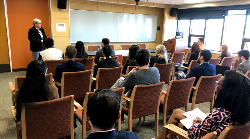 Dean Kyte in info session