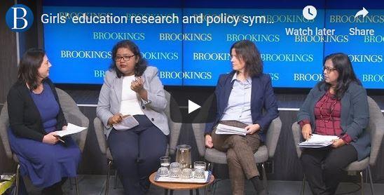 Oishi on a Brookings panel