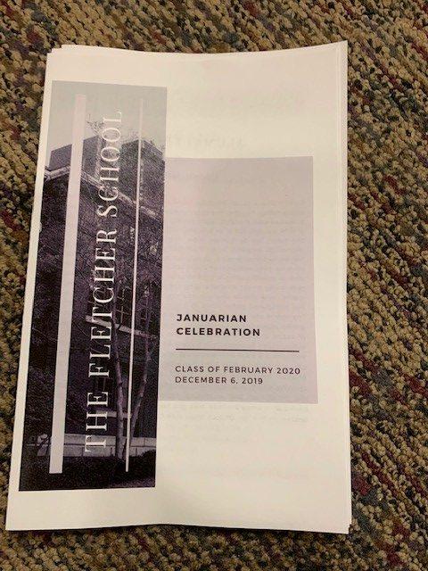 Januarian graduation program