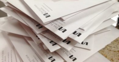 envelope pile