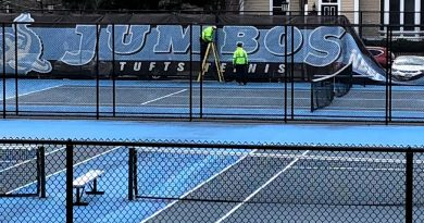 Tufts tennis courts