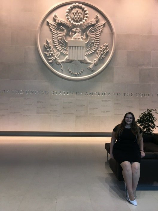 Gioia at the US Embassy in London