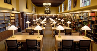 Ginn Library reading room