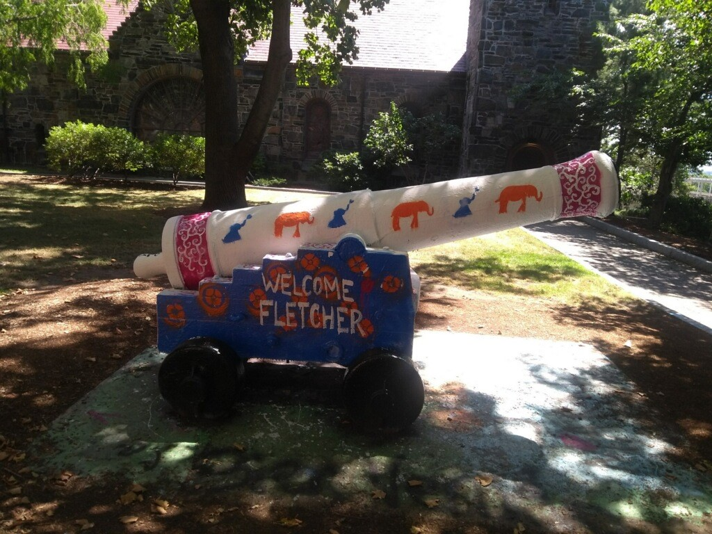 cannon painted by Fletcher