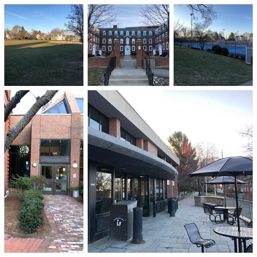 outdoor spots at Fletcher