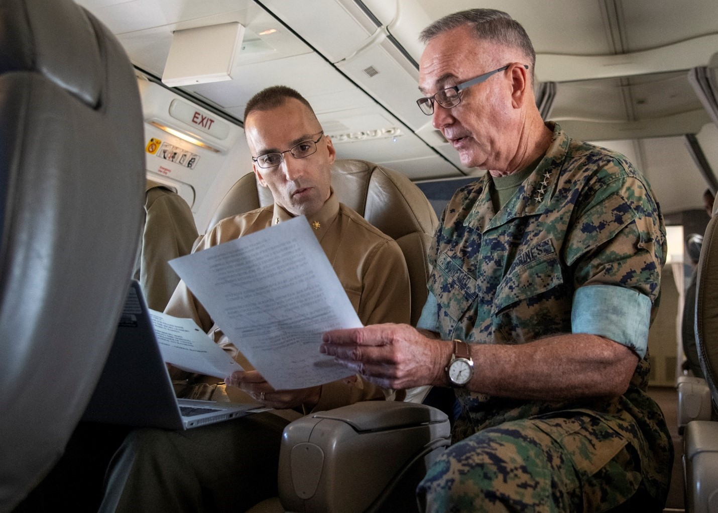 Gary and General Joseph Dunford