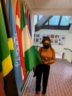 Princess in the Hall of Flags