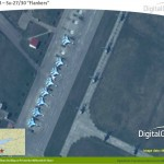 ighterjets and helicopters at Primorko-Akhtarsk Air Base - Photo courtesy of DigitalGlobe