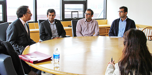 Pakistan's Ambassador to the U.S. Jalil Abbas Jilani speaks with Fletcher students. Photo: Pat Subpa-asa, MALD 2015 Candidate