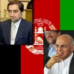 Abdullah Abdullah (left) and Ashraf Ghani Ahmadzai (right)