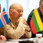 Navy Adm. James Stavridis, commander U.S. European Command and NATO Supreme Allied Commander, Europe, at the Northern Europe Chiefs of Defense Conference in Helsinki, Finland, Oct. 18, 2012. NATO photo by British Army Staff Sgt. Ian Houlding