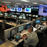 Personnel of the 624th Operations Center, located at Joint Base San Antonio - Lackland, conduct cyber operations.  WILLIAM BELCHER/U.S. AIR FORCE