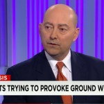 "Admiral James Stavridis (ret.) discusses the latest developments in the fight against ISIS with CNN's Jake Tapper on ""The Lead,"" Feb. 27, 2015."