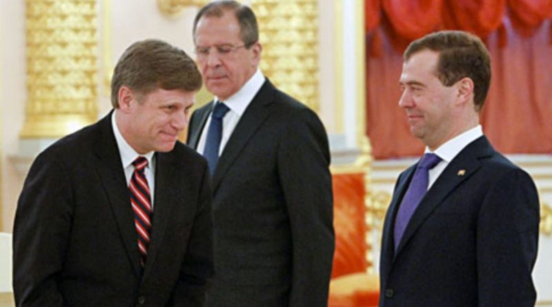 Dean Stavridis Discusses U.S.-Russia Tensions with Amb. Michael McFaul
