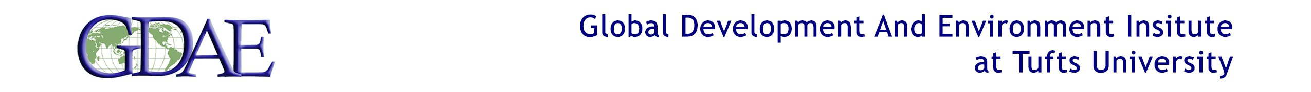 Global Development And Environment Institute