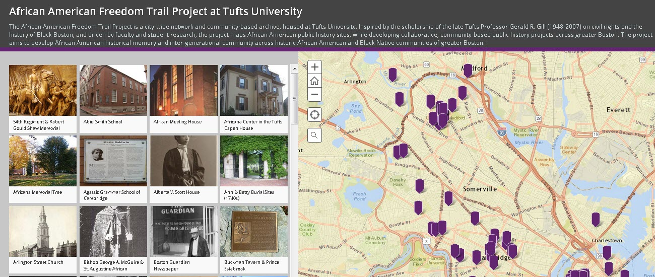 On The Trail Of Boston S Black History Inspired By A Beloved Professor An Interactive Map Catalogs African American Historical Sites At Tufts And Greater