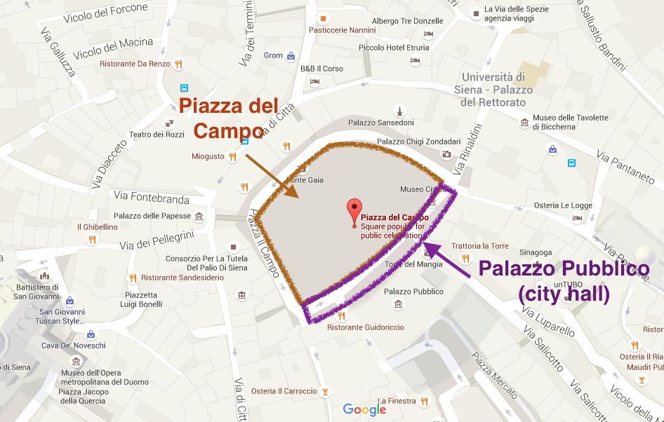 2. ed. Piazza del Campo