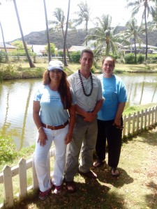 Charles and members of the Livable Hawaii Kai Hui at the O`ahu Club(Photo (c) Livable Hawaii Kai Hui 2014)
