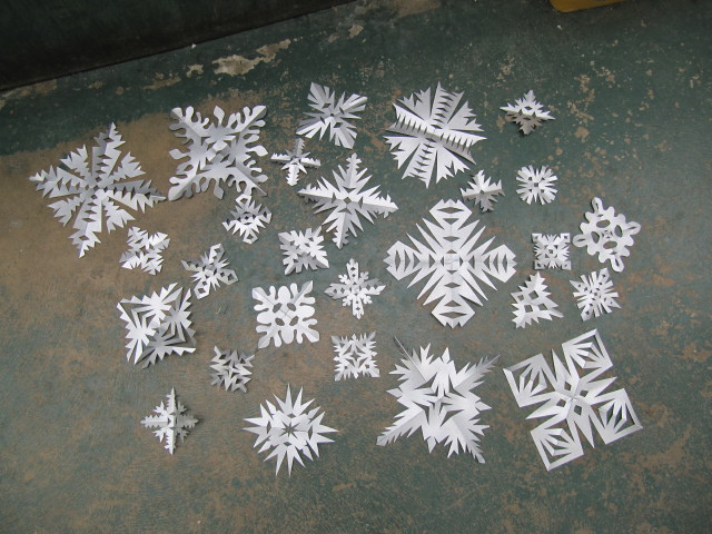 More Snowflakes!