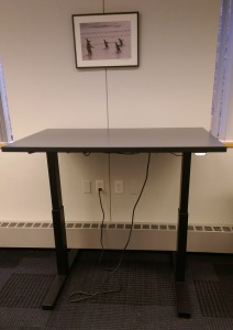 6th Floor Standing desk