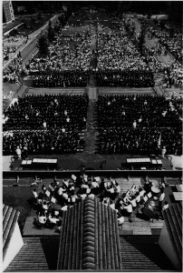 "Duette . ""Commencement, 1966."" UA136.002.DO.01322r. Tufts University. Digital Collections and Archives. Medford, MA."