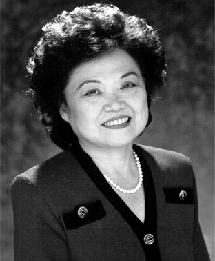 Representative Patsy Mink, a co-author of Title IX. The law was renamed after her in 2002 as the Patsy Takemoto Mink Equal Opportunity in Education Act
