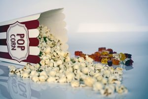 Movie Popcorn and Candy