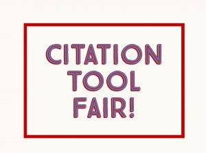 Citation Tool Fair