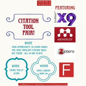 citation tool fair poster