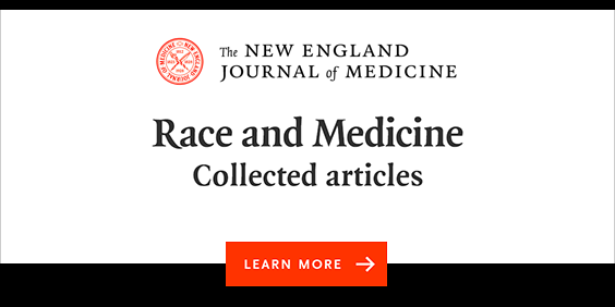 New England Journal of Medicine Race and Medicine webpage