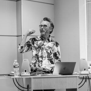 Professor Jonathan Potter launches the HI Lab