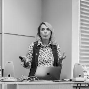 Professor Alexa Hepburn launches the HI Lab