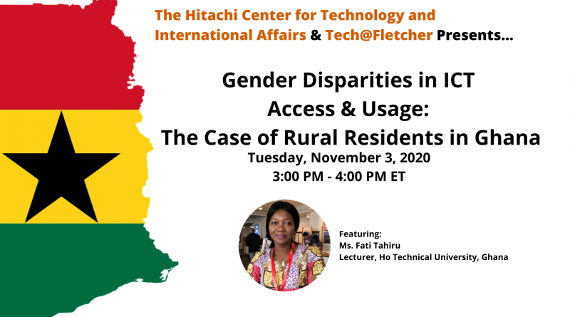 ICT Disparities in Access & Usage: The Case of Rural Residents in Ghana