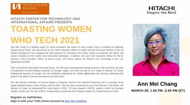 Toasting Women Who Tech 2021