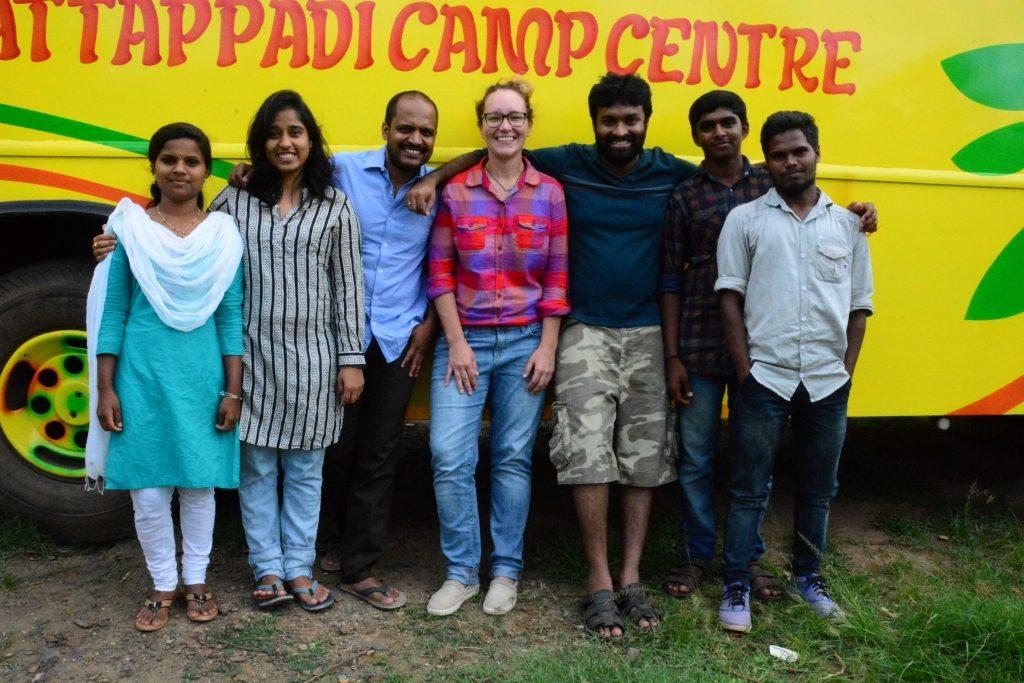 Rashmi team in Attappady camp center