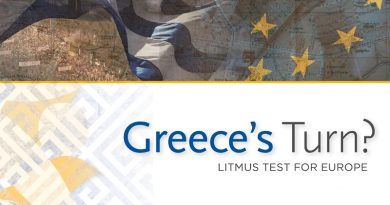 Greece's Turn? Litmus Test for Europe